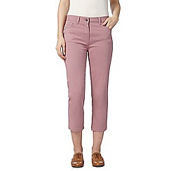 RJR.John Rocha - Designer pink denim cropped trousers