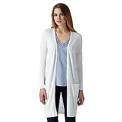 RJR.John Rocha - Designer white longline cardigan