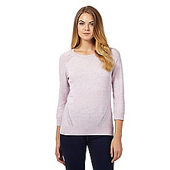 RJR.John Rocha - Lilac stretch jumper