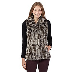 RJR.John Rocha - Brown faux fur gilet