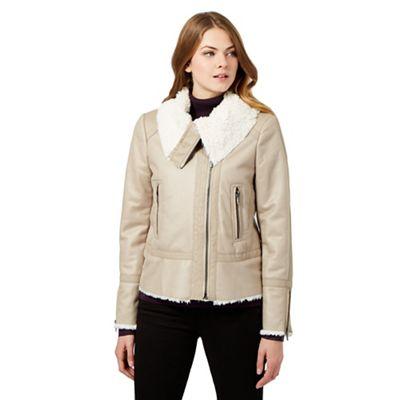 RJR.John Rocha Shearling jacket - . -