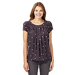 RJR.John Rocha - Designer dark grey bee shell top