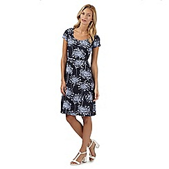 RJR.John Rocha - Designer navy floral dress