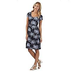 RJR.John Rocha - Designer navy floral dress