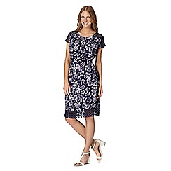 RJR.John Rocha - Designer navy meadow print dress