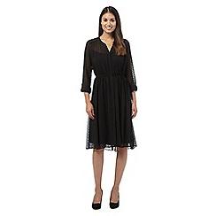 RJR.John Rocha - Black spotted dress