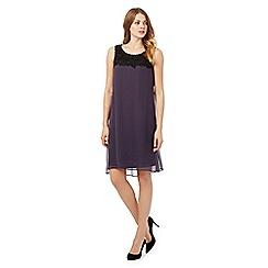 RJR.John Rocha - Purple floral lace dress