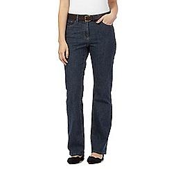 RJR.John Rocha - Dark blue shape enhancing 'Elsa' straight leg jeans