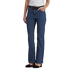RJR.John Rocha - Light blue shape enhancing 'Jenna' bootcut jeans