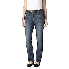 RJR.John Rocha - Dark blue shape enhancing 'Jenna' bootcut jeans