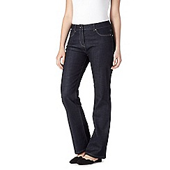 RJR.John Rocha - Dark blue shape enhancing  bootcut jeans