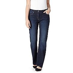 RJR.John Rocha - Designer mid blue slim bootcut jeans