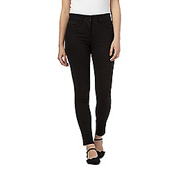 RJR.John Rocha - Black shape enhancing slim leg jeans