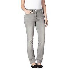 RJR.John Rocha - Light grey shape enhancing straight leg jeans
