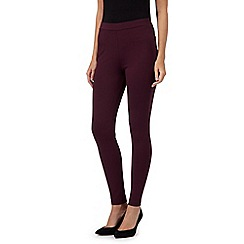 RJR.John Rocha - Dark purple ponte leggings