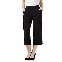 RJR.John Rocha - Black cropped trousers