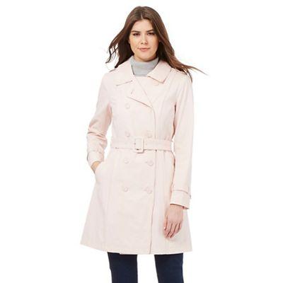 RJR.John Rocha Pale pink mac coat