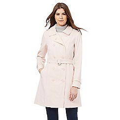 RJR.John Rocha - Pale pink mac coat