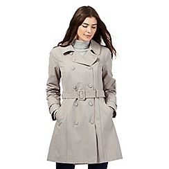 RJR.John Rocha - Light grey mac coat