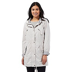 RJR.John Rocha - Light grey longline parka jacket