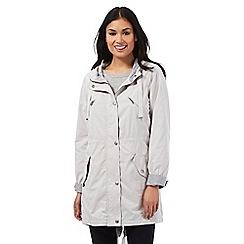RJR.John Rocha - Light grey longline parka jacket