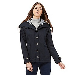 RJR.John Rocha - Navy crop hood jacket