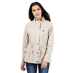RJR.John Rocha - Beige stitched three pocket jacket