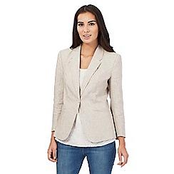 RJR.John Rocha - Cream linen jacket