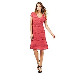 RJR.John Rocha - Pink textured jersey dress