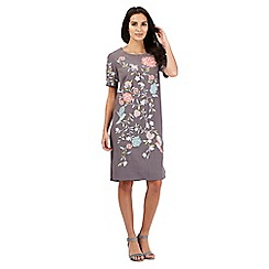 RJR.John Rocha - Grey floral embellished dress