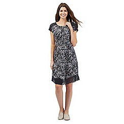 RJR.John Rocha - Navy fern print dress