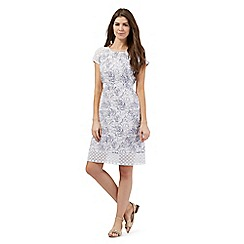 RJR.John Rocha - White fern print dress