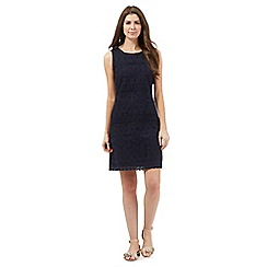 RJR.John Rocha - Navy lace shift dress
