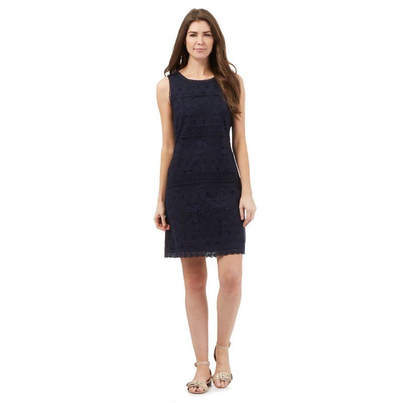 RJR.John Rocha Navy lace shift dress