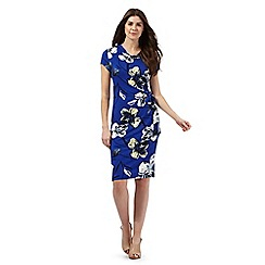 RJR.John Rocha - Blue floral print dress