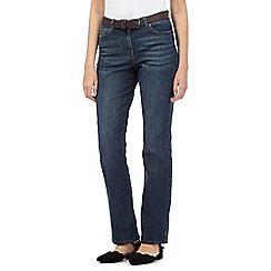 RJR.John Rocha - Mid wash straight leg jeans