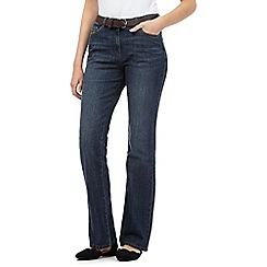 RJR.John Rocha - Mid wash slim bootcut jeans