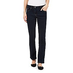 RJR.John Rocha - Dark blue wash 'Elsa' straight jeans