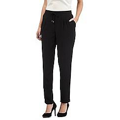RJR.John Rocha - Black crepe trousers