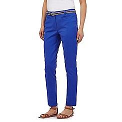 RJR.John Rocha - Blue belted trousers