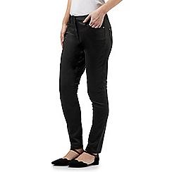 RJR.John Rocha - Khaki  'Alice' zip detail slim leg jeans