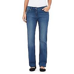RJR.John Rocha - Blue mid wash 'Jenna' slim bootcut jeans