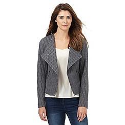 RJR.John Rocha - Grey textured jacket