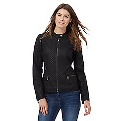 RJR.John Rocha - Black quilted jacket