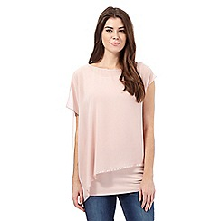 RJR.John Rocha - Light pink layered top
