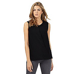 RJR.John Rocha - Black twist front top