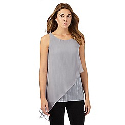 RJR.John Rocha - Grey asymmetric top