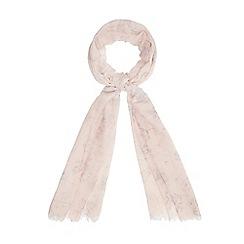 RJR.John Rocha - Pale pink dandelion print scarf