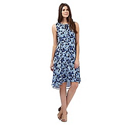 RJR.John Rocha - Blue pansy print dress