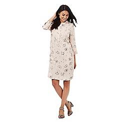 RJR.John Rocha - Pale pink dandelion print dress